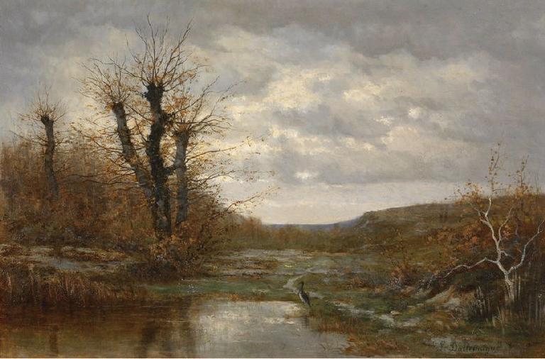 Bords d'étang dans la Dombes_0
