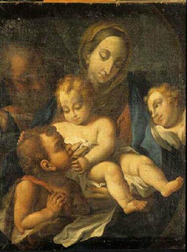 Sainte famille avec Saint Jean_0