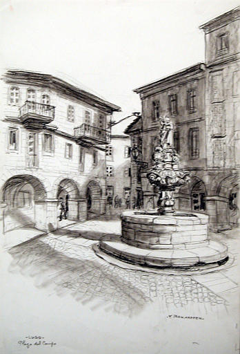 Lugo : plaza del Campo (titr. inscrit)_0
