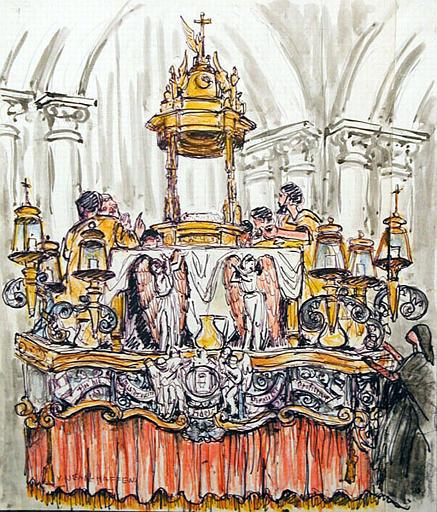 Lugo : carrosse du Saint-Sacrement (titr. inscrit)_0