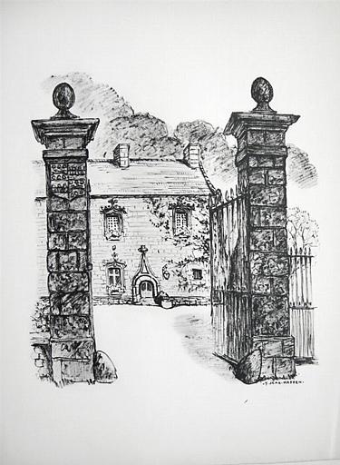 Le Vaumadeuc et son portail [titre attribué]