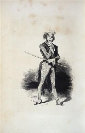 Spéculateur, Les Français peints par eux-mêmes, encyclopédie morale du XIXème siècle, volume 1, L. Curmer, éditeur,  page 375