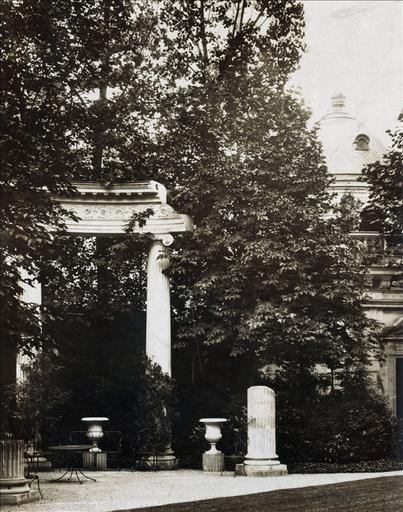 Hôtel de la rue Fortunée : jardin_0