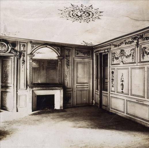 Hôtel de la rue Fortunée : salon de réception