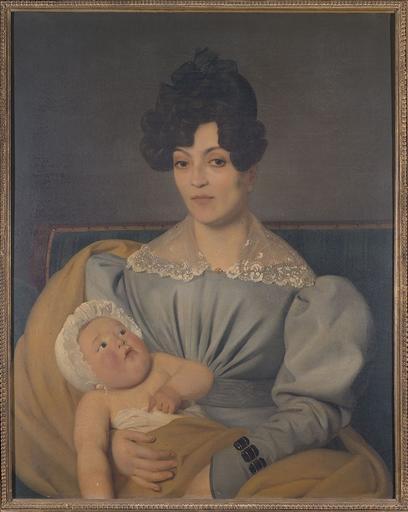 Portrait de Zulma Carraud et de son fils Ivan âgé de six mois_0