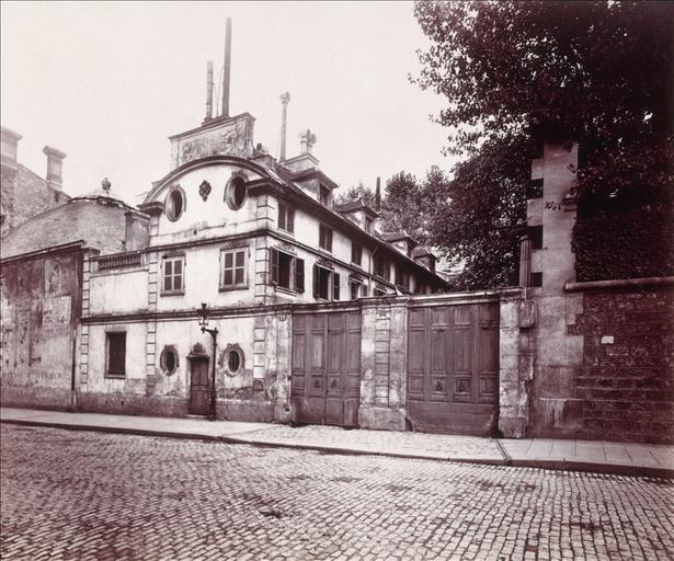 Hôtel de la rue Fortunée : vue extérieure_0