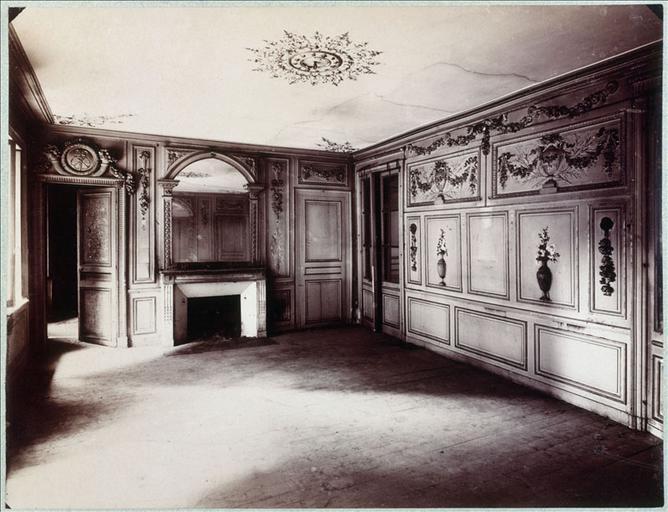 Hôtel de la rue Fortunée : salon de réception_0
