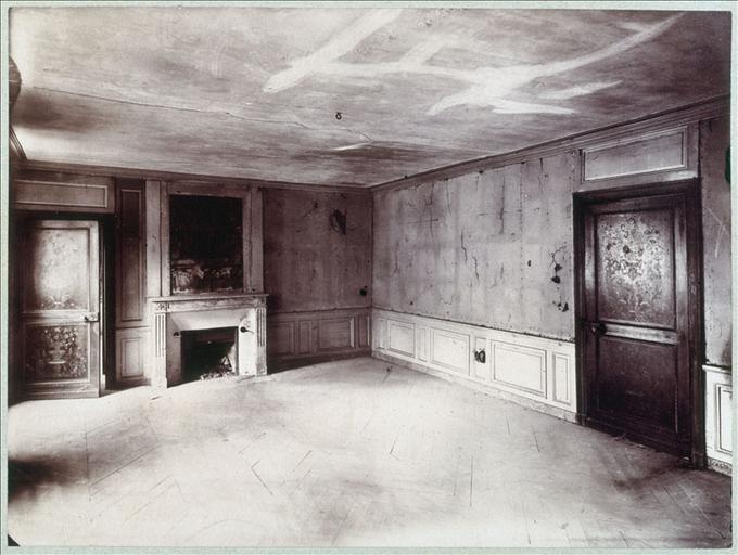 Hôtel de la rue Fortunée - Salon du premier étage_0