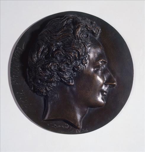 Portrait en médaillon de Charles Philipon_0