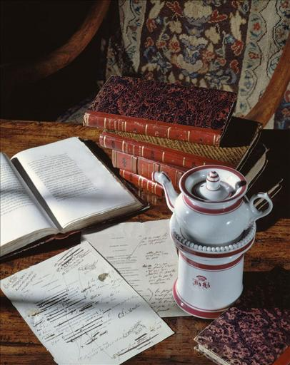 Cafetière de Balzac, épreuve corrigée des Illusions Perdues, La Pâquerette, livres de la bibliothèque personnelle de Balzac ; #Cafetière de Balzac_0