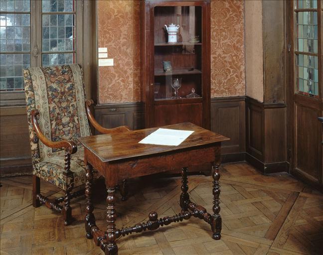 Cabinet de travail de Balzac ; #Table de travail de Balzac_0