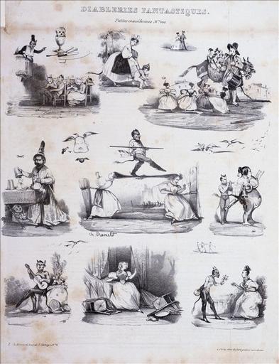 Diableries fantastiques, petites macédoines, Le Charivari, numéro 100, volume 5, 8 mars 1833_0