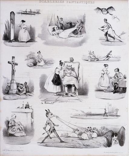 Diableries fantastiques, Le Charivari, volume 5, 22 mars 1833_0