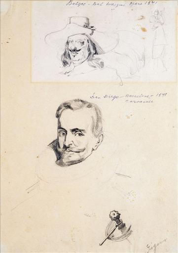 Balzac au bal masqué de l'Opéra_0