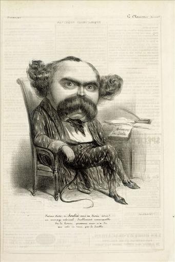 Soulié en diable pour le Panthéon charivarique, le Charivari du 10 mars 1838_0