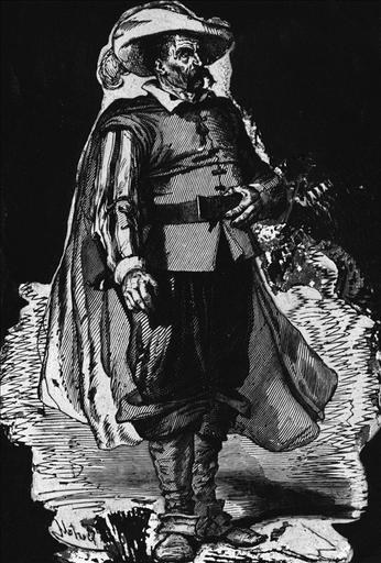 Le Comte d'Hérouville dans L'Enfant Maudit ,édition Furne_0
