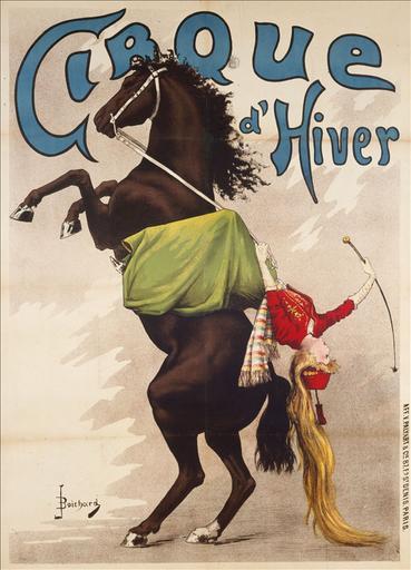 Ecuyère à cheval, Cirque d'Hiver