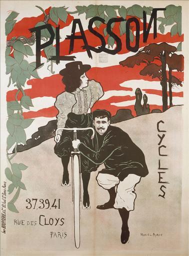 Plasson / Cycles / 37,39,41 / Rue des Cloys / Paris