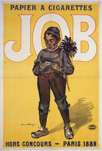 Papier à Cigarettes / Job / Hors-concours - Paris 1889