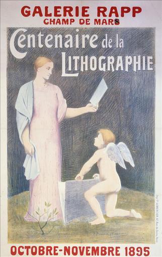 Galerie Rapp / Champ de Mars / Centenaire de la Lithographie / Octobre-Novembre 1895