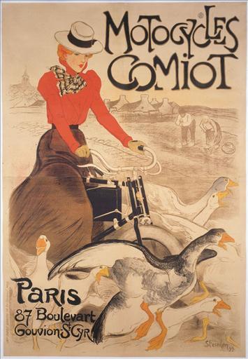 Motocycles / Comiot / Paris / 87 Boulevart / Gouvion-St-Cyr_0