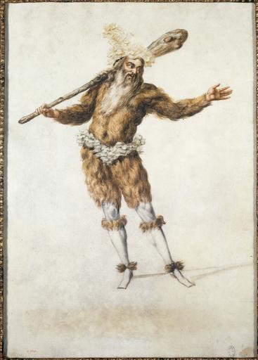 Figure de ballet : Un Sauvage