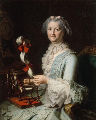 Portrait présumé de Françoise-Marie Pouget, seconde femme de Chardin_0