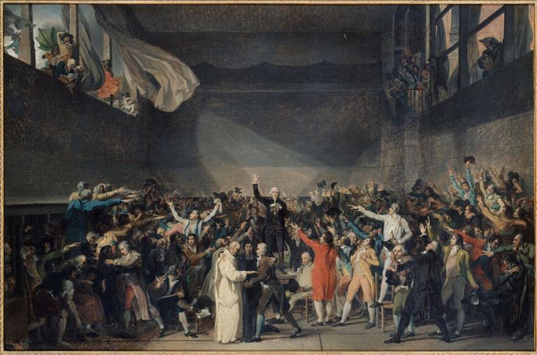 Serment du Jeu de paume, le 20 juin 1789_0