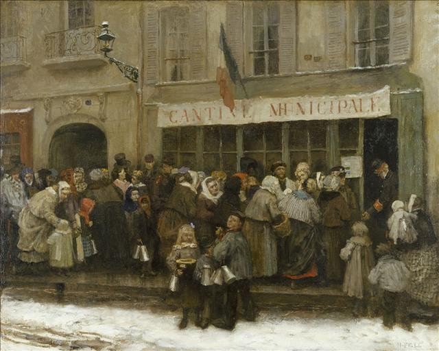Cantine municipale pendant le siège de Paris (1870-1871)