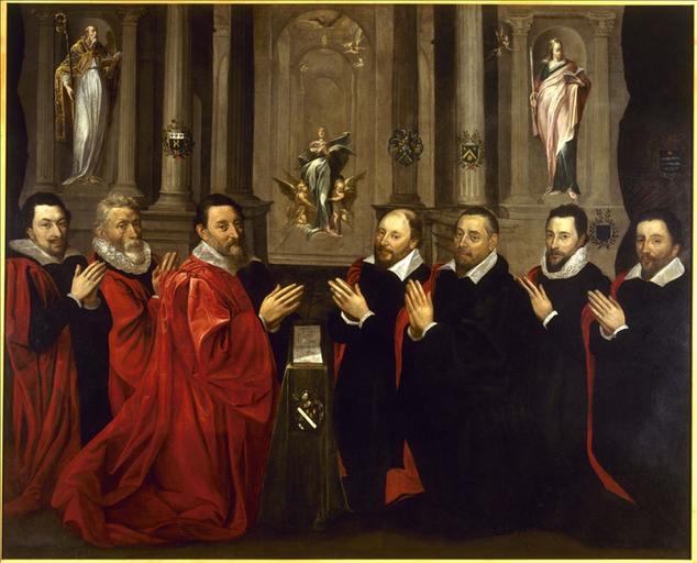 Le prévôt des marchands et le bureau de la Ville de Paris, en 1611_0
