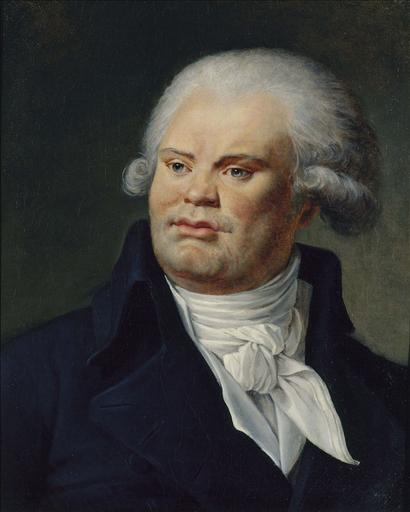 Portrait de Georges Danton (1759-1794), orateur et homme politique_0