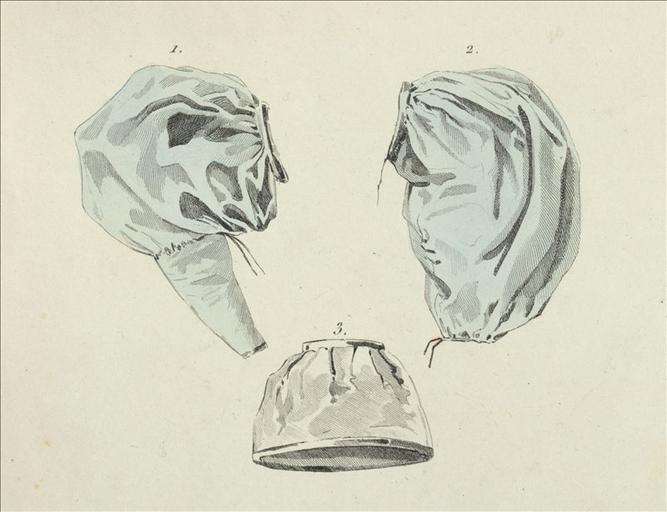 La Mode, 1830, planche 12 : manches de robes gigot_0