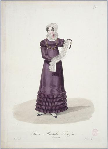 Ouvrières de Paris : Maîtresse lingère (planche 39, vers 1823, Paris)_0