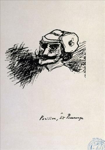 Album de gravures d'après les dessins de Victor Hugo pour Les Travailleurs de la mer : Parisien, dit Peaurouge (planche 24) - 1882_0