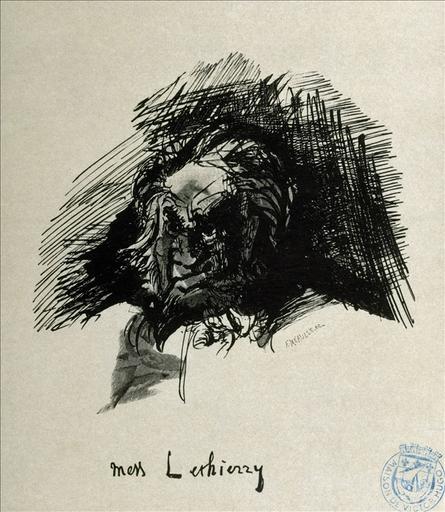 Album de gravures d'après les dessins de Victor Hugo pour Les Travailleurs de la mer : Mess Lethierry (planche 25) - 1882_0