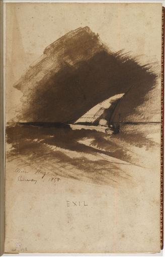 Exil ; Un bateau à voile (autre titre)_0