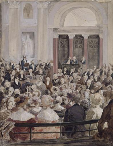 Réception de Victor Hugo à l'Académie Française en 1841_0