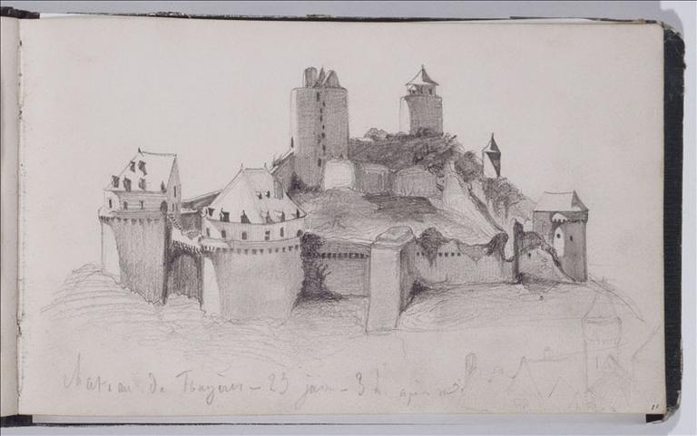 Château de Fougères, 23 juin 1836, folio 11