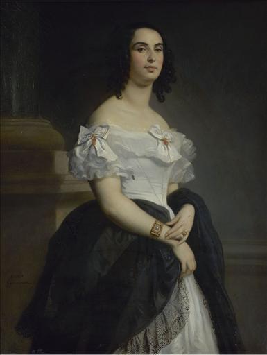 Portrait de Madame Hugo_0