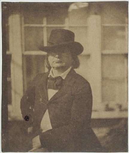 Victor Hugo au chapeau, vers 1853 - 1855_0