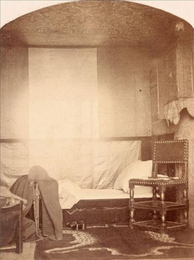 La chambre de Victor Hugo à Hauteville House, 1862_0
