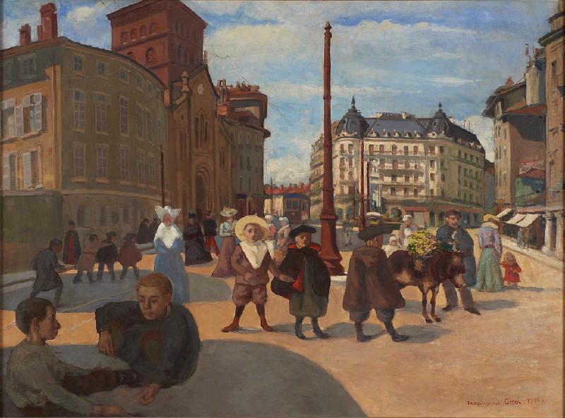La place Notre-Dame, Grenoble, 1900_0