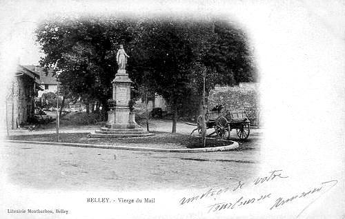 BELLEY. - Vierge du Mail_0