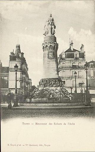 TROYES - Monument des Enfants de l'Aube_0