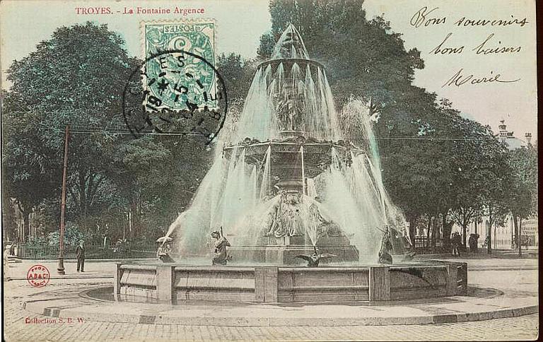 TROYES. - La Fontaine Argence_0