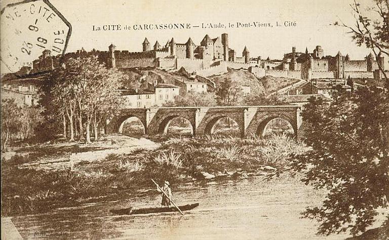 La CITE de CARCASSONNE - L'Aude, le Pont Vieux, la Cité_0