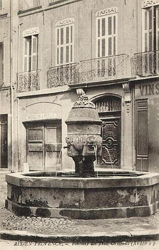AIX-EN-PROVENCE - Fontaine des Trois Ormeaux_0