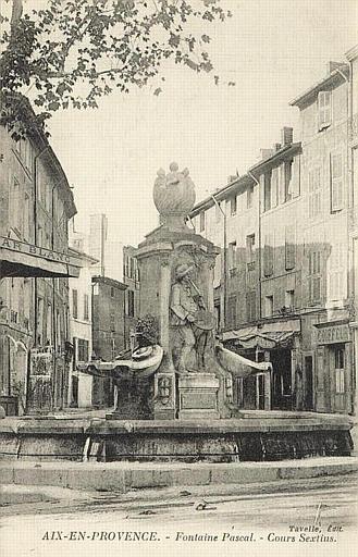AIX-EN-PROVENCE - Fontaine Pascal. - Cours Sextius_0