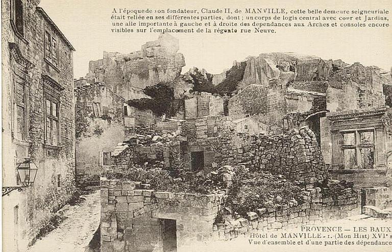 PROVENCE - LES BAUX / Hôtel de Manville [...] des dépendances (en bas)_0