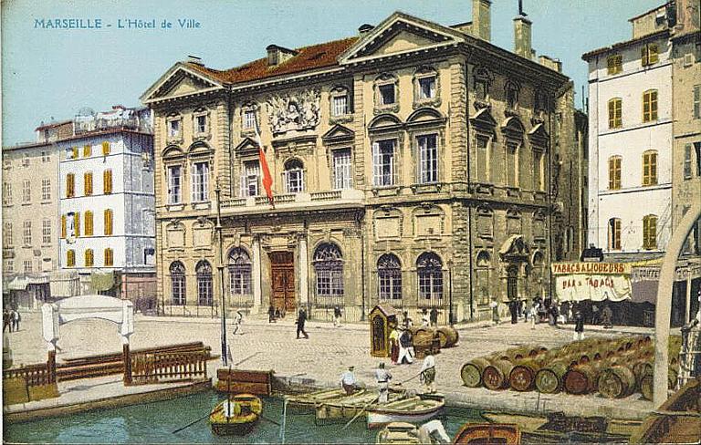 MARSEILLE - L'Hôtel de Ville_0